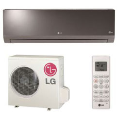 LG LA240HSV2 Single Zone Art Cool Mirror Wall Mount System 22,000 Btu/h