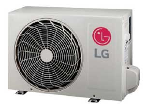 LG LSU090HXV2 Mega 115V Single Zone Inverter Outdoor Unit 8,500 Btu/h