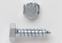 "HEX LAG BOLTS 1/4"" X 1-1/2"" ZINC (100 COUNT JAR) 14X112HLBZJ"