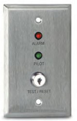 Air Products & Controls MS-KA/P/R MS Remote with Pilot and Trouble LED with a Key Test and Reset