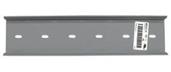 """MT212-12 MOUNTING TRACK FOR RELAYS, CURRENT SENSORS, AND POWER SUPPLIES 12"""" X 2.75"""""""