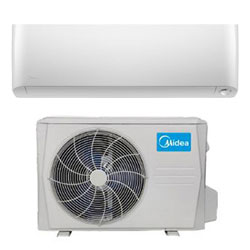 Midea Ductless DLFPHA/DLCPRA Single Zone Max Series Wall Mount System 9,000 Btu/h