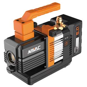 Navac NP2DLM Master Series Cordless Vacuum Pump 2 CFM
