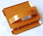 "Amcraft Modified Corner Shiplap 1-1/2"" Orange Duct Board Tool #1415"