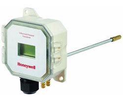 "Honeywell P7650B1024 Duct mount pressure sensor has ±0 -1"", 0-2"", 0-5"", 0-10"" w.c. selectable pressure range with display"