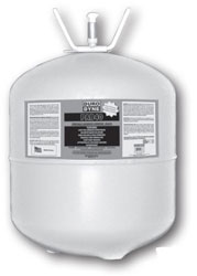 Duro Dyne PAB40 Portable Adhesive Black Solvent Base 40 lb. Canister 5087