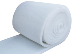 "WHITE 25""X60'X2"" MEDIA POLYFLOSS MERV 7 PBR25HL8"