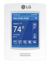 LG PREMTBVC0 (CRC1) MultiSITE Controller with PIR and Humidity Sensor