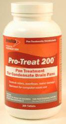 PROTREAT-200 ECONOMY DRAIN PAN TREATMENT 200 TABS/JAR 12 JARS/CASE