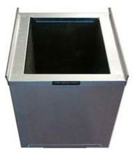 The Metal Shop Steel Insulated Return Air Stand 22.5 Inch Wide x 22 Inch Deep - 20 Inch Height 003-126