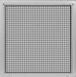 "RF-2-AG-T 24X24 T-BAR ALUM GRID RETURN AIR FILTER GRILLE WIDE FRAME REMOVABLE CORE (1/2""X1/2""X1/2"" CORE)"