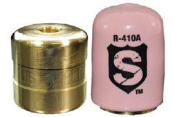 "SHIELD LOCKING CAP 5/16"" R-410A PINK SHLD-E50"