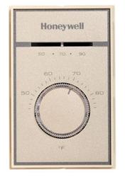 Honeywell T651A3018 Medium Duty Line Voltage Heat-Cool Thermostat