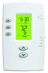 Honeywell TH2210DV1006 PRO 2000 Vertical Programmable Thermostats