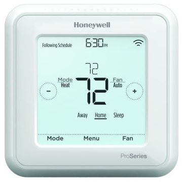 Honeywell TH6320ZW2003 Z-Wave T6 Pro Programmable Thermostat