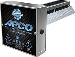 Fresh-Aire UV TUV-APCO-ER2 APCO Whole-House Air Purifier Single 2 Year Lamp 18-32 VAC