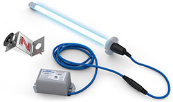 Fresh-Aire UV TUV-BTER2 The Original Blue-Tube UV Single Lamp 18-32 VAC low voltage 2 Year Lamp