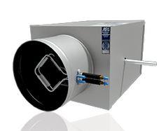 "6"" VAV AIR TERMINAL UNIT 1/2"" INSULATION AIRFLOW SENSOR CONTROL BOX W/DUST COVER NO CONTROLS PH-506-100-B-14-16"