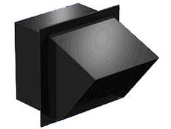 Greenheck WC-8X8 Hooded Wall Cap for SP/CSP Fans Sizes A200-A510 & B200