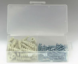 "ZIP IT ANCHOR KIT 6 X 1"" JR. NYLON 50/BOX 2367"