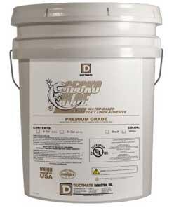 Ductmate GECKOSILV5W Gecko Glue Silver 5 Gallon White